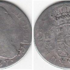 Monedas de España: CARLOS III: 2 REALES 1787 MADRID - DV / PLATA. Lote 56043717