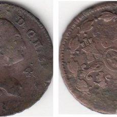 Monedas de España: CARLOS IIII: 4 MARAVEDIS 1798 SEGOVIA. Lote 56086906