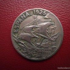 Monedas de España: 25 CENTIMOS 1925. Lote 56154299