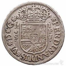 Monedas de España: ESPAÑA. FERNANDO VI. 1 REAL SEVILLA. 1.750. Lote 56273795