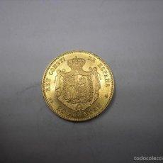 Monedas de España: 20 PESETAS DE ORO DE 1890. 18-90. REY ALFONSO XIII. Lote 56345449
