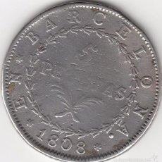 Monedas de España: JOSE NAPOLEON: 5 PESETAS 1808 BARCELONA - PLATA. Lote 251845230