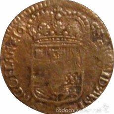 Monedas de España: ESPAÑA. CARLOS II. PAÍSES BAJOS ESPAÑOLES. 1 LIARD 1.695. Lote 56630062