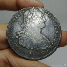 Monedas de España: 8 REALES. PLATA. CARLOS IV. POTOSI - PJ - 1808. Lote 56639075