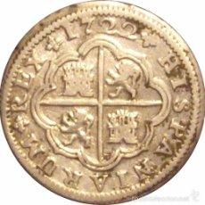 Monedas de España: ESPAÑA. FELIPE V. 2 REALES 1.722 SEVILLA (J). Lote 56639929