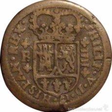 Monedas de España: ESPAÑA. FELIPE V. 4 MARAVEDÍS 1.720/18 BARCELONA. Lote 56741840