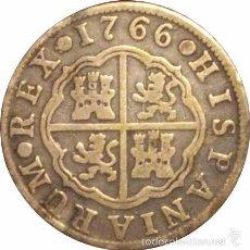 Monedas de España: ESPAÑA. CARLOS III. 2 REALES 1.766 MADRID. Lote 56880825