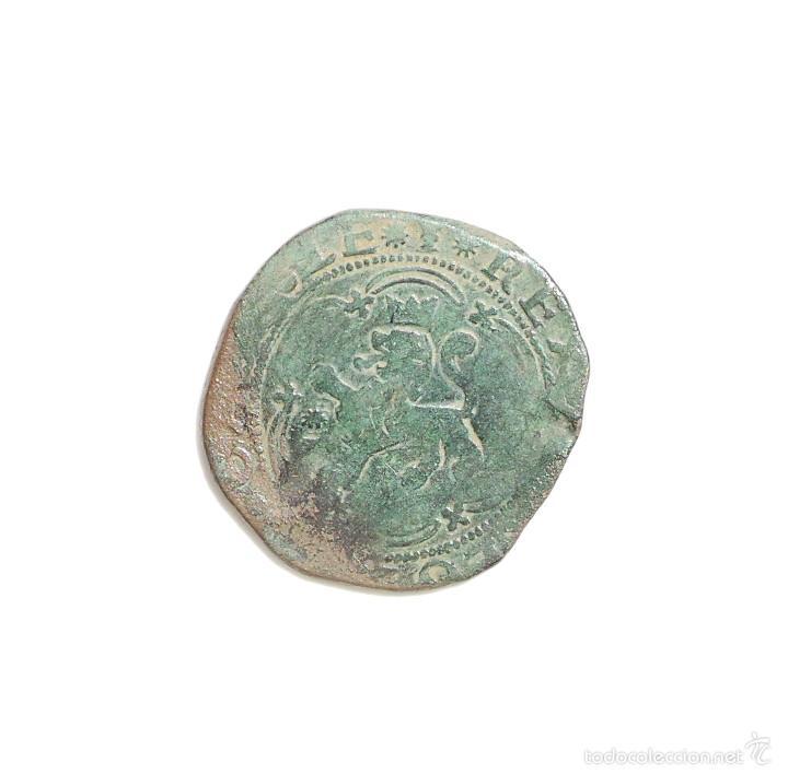 CUATRO MARAVEDIES REYES CATOLICOS CECA DE CUENCA (Numismática - España Modernas y Contemporáneas - De Reyes Católicos (1.474) a Fernando VII (1.833))