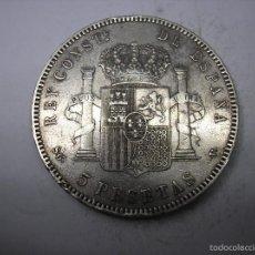 Monedas de España: 5 PESETAS DE PLATA DE 1899. 18-99.REY ALFONSO XIII. Lote 56942512