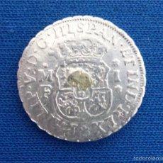 Monedas de España: 1 REAL DE PLATA. AÑO 1741. ACUÑADA EN MÉXICO.. Lote 57081799