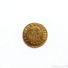 Monedas de España: 1/2 ESCUDO FERNANDO VI 1758 CECA MADRID JB - RARA. Lote 57093391