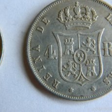 Monedas de España: MONEDA DE PLATA ISABEL II. Lote 57110317