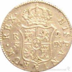 Monedas de España: ESPAÑA. CARLOS IV. 2 REALES 1.801 SEVILLA. Lote 57253011