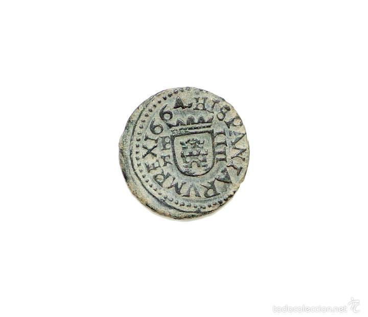 FELIPE IV - 4 MARAVEDIS 1664 SEGOVIA BR. (Numismática - España Modernas y Contemporáneas - De Reyes Católicos (1.474) a Fernando VII (1.833))