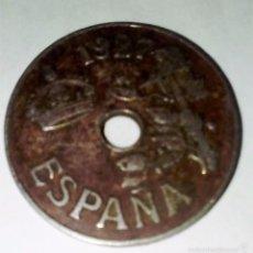 Monedas de España: MONEDA DE 25 CÉNTIMOS DE 1927. Lote 57326344