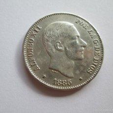 Monedas de España: ALFONSO XII * 50 CENTAVOS DE PESO * 1885 * FILIPINAS * PLATA. Lote 57353619