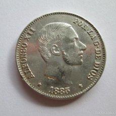 Monedas de España: ALFONSO XII * 50 CENTAVOS DE PESO * 1885 * FILIPINAS * PLATA. Lote 57353623