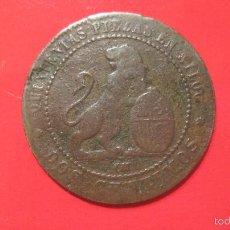 Monedas de España: MONEDA 2 CENTIMOS DE 1870.. Lote 57358138