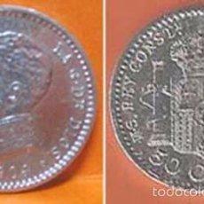 Monedas de España: 17--ESPAÑA-50 CÉNTIMOS DE PLATA-ALFONSO XIII (13), 1904, ESTRELLAS *0-*4. Lote 57386099