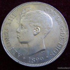 Monedas de España: ESPAÑA 5 PESETAS 1899 ESTRELLAS 18 99 SGV ALFONSO XIII. Lote 57623683