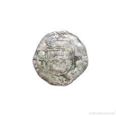 Monedas de España: FELIPE II 1 CUARTILLO DE REAL TOLEDO M. ANVERSO T-M REVERSO T-M. Lote 57631631