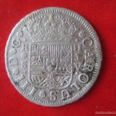 Monedas de España: 2 REALES DE PLATA DE CARLOS III. 1760 SEVILLA. #MN. Lote 57657550
