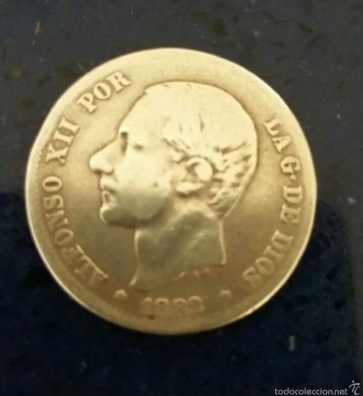MONEDA DE PLATA (Numismática - España Modernas y Contemporáneas - De Isabel II (1.834) a Alfonso XIII (1.931))