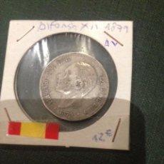 Monedas de España: MONEDA 2 PESETAS PLATA 1879 ALFONSO XII. Lote 57979965