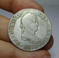 Monedas de España: 2 REALES. PLATA. FERNANDO VII. CADIZ - 1810 - CI. Lote 58157246