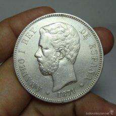 Monedas de España: 5 PESETAS. PLATA. AMADEO. 1871 - DEM *18 *75. Lote 58177725