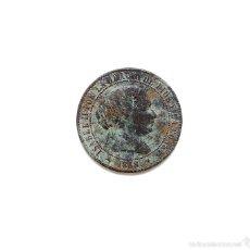 Monedas de España: ISABEL II - 2 1/2 CENTIMOS DE ESCUDO 1868 SEGOVIA.. Lote 58188498