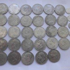 Monedas de España: 5 PESETAS DE PLATA Y 1 PESETA DE PLATA. LOTE. Lote 58367499