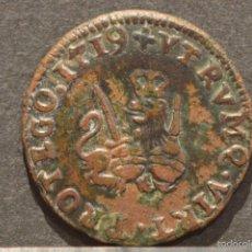 Monedas de España: 1 MARAVEDÍ 1719 VALENCIA MARAVEDIS FELIPE V RARO. Lote 58598322