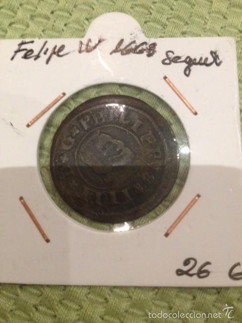 MONEDA FELIPE IV 1663 16 MARAVEDIS SEGOVIA (Numismática - España Modernas y Contemporáneas - De Reyes Católicos (1.474) a Fernando VII (1.833))