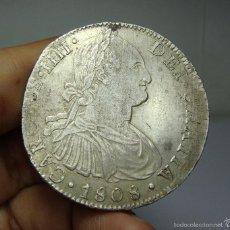 Monedas de España: 8 REALES. PLATA. CARLOS IV. MEXICO - 1808 - TH. Lote 60379059
