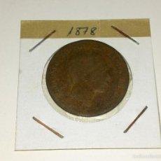 Monedas de España: MONEDA DE 10 CENTIMOS 1878. Lote 60933631