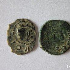 Monedas de España: 2 DINEROS DE LOS AUSTRIAS. VALENCIA. VARIANTES ESCASAS.. Lote 61515231