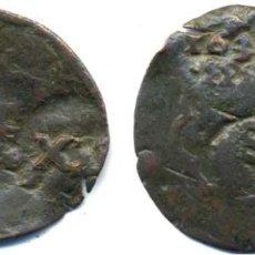 Monedas de España: FELIPE III, 4 MARAVEDIS CON RESELLO DE XII MARAVEDIS 1636 DE VALLADOLID (ESCASA). Lote 61664292
