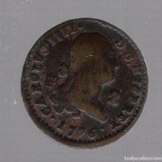 Monedas de España: MONEDA. 2 MARAVEDIS. CARLOS IIII. 1796. SEGOVIA. Lote 61956844