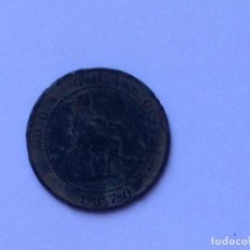 Monedas de España: MONEDA 2 CENTIMOS 1870. Lote 62234768