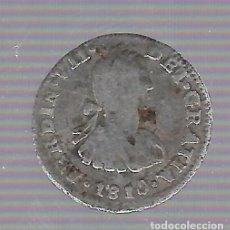 Monedas de España: MONEDA. 1/2 REAL. FERNANDO VII. 1810. MEJICO. VER. Lote 62321544
