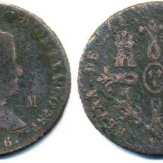 Monedas de España: ISABEL II, 8 MARAVEDIS 1846 DE JUBIA. Lote 62542212