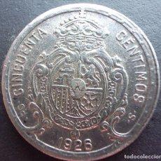 Monedas de España: 50 CENTIMOS DE 1926 ••• SIN CIRCULAR ••• ALFONSO XIII. Lote 62636844