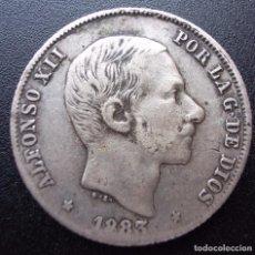 Monedas de España: 20 CENTAVOS DE PESO DE 1883 ••• MBC- ••• ALFONSO XII. Lote 62651484