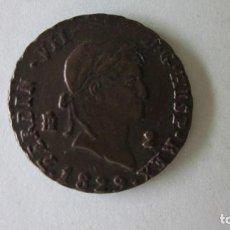 Monedas de España: DOS MARAVEDÍS DE FERNANDO VII. SEGOVIA. 1829. PUNTO SOBRE VALOR.. Lote 63509960