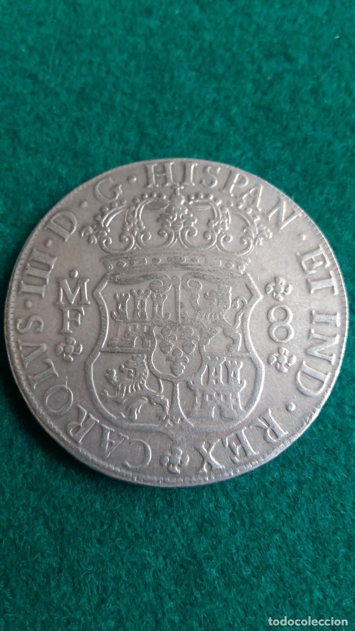 Carlos Iii 8 Reales Falsa No Moderna Comprar Monedas De Reyes