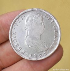 Monedas de España: 8 REALES FERNANDO VII 1821 ZACATECAS R.G. - PLATA. Lote 63642263