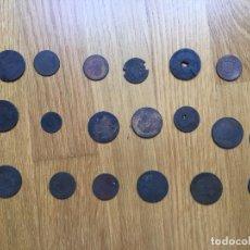 Monedas de España: LOTE MONEDAS DIFERENTES ÉPOCAS. Lote 64165415
