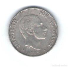 Monedas de España: 50 CENTAVOS DE PESO 1882 ALFONSO XII FILIPINAS - PLATA. Lote 64196287