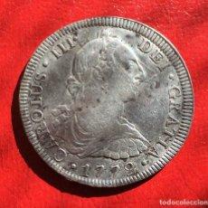 Monedas de España: 8R CARLOS III 1772 FM INVERT. Lote 64380019
